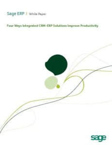 Sage CRM-ERP Integration Whitepaper