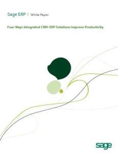 Sage CRM-ERP Integration Whitepaper